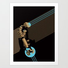 The Engineer Art Print
