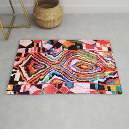 Bold Abstract Rug Pattern  Rug