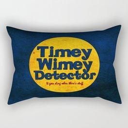 Doctor Who: Timey Wimey Detector Rectangular Pillow