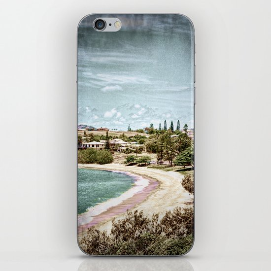 Living by the ocean iPhone & iPod Skin