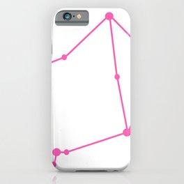 Libra (Pink & White) iPhone Case