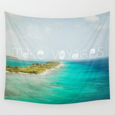 Make Voyages Wall Tapestry