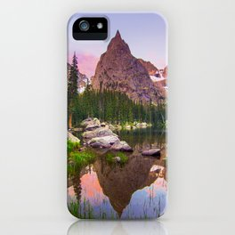 Lone Eagle Peak iPhone Case