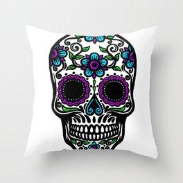Sugar Skull 2 Throw Pillow