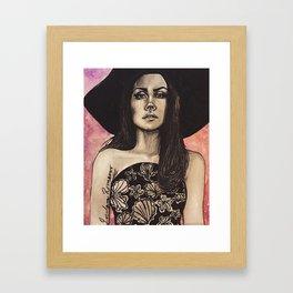 Forever Lana  Framed Art Print