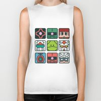 gundam Biker Tanks featuring Gundam Icon Design by Kenjken