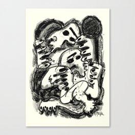 Break Apart Canvas Print