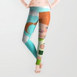 Kokeshi Pippi Leggings