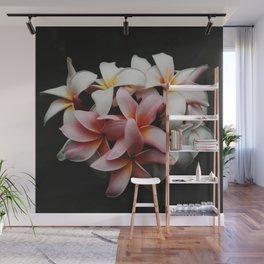 Flowers In The Dark Wall Mural