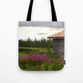 Pioneer Cabin II - Alaska Tote Bag