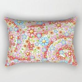 Millefiori Auspicious Waves Rectangular Pillow