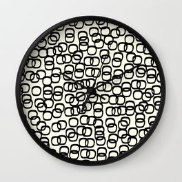 Black Tie Collection Links Wall Clock