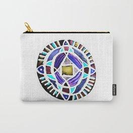 Four Season Life Mandala Carry-All Pouch