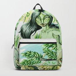 Lion Mother Backpack