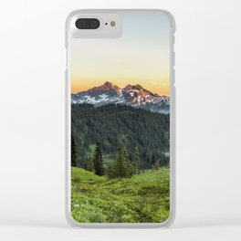 Looking Towards Tatoosh Range Clear iPhone Case