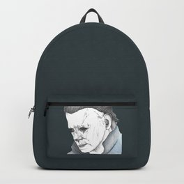 Happy Halloween, Michael Myers Portrait Backpack