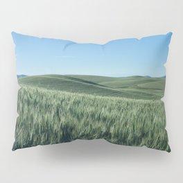 Wheat Fields Photography Print Pillow Sham