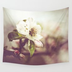 Lonely blossom Wall Tapestry