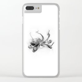 Pacific Octopus Clear iPhone Case