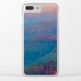 Magical Grand Canyon Clear iPhone Case