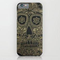 Gold Skull iPhone 6s Slim Case