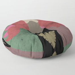 Feel The Burn Floor Pillow