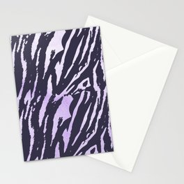 Tiger Rose Watercolor Gradient Stationery Cards