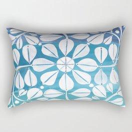 Blue Zellige Rectangular Pillow