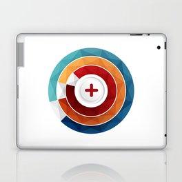 Geometric Modern Digital Abstracr Laptop & iPad Skin