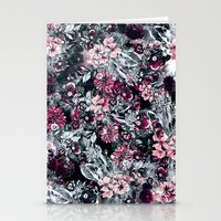 dahlia Stationery Cards featuring Dahlia by RIZA PEKER