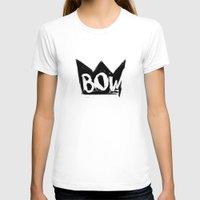 bow T-shirts featuring Bow by Matt Smiroldo