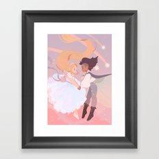 Princess Princess Framed Art Print