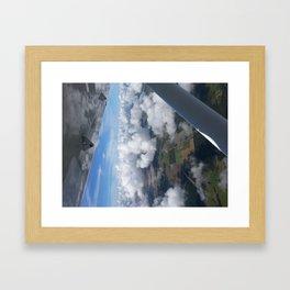 Cloud Layer Framed Art Print