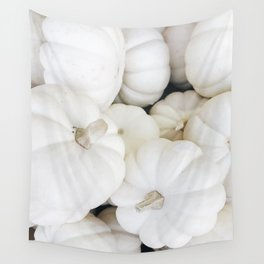 White Pumpkins Wall Tapestry