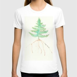 Tree with Isaac Newton Quote T-shirt