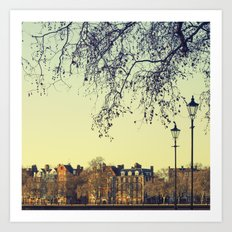 A place called London Art Print
