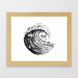 The Shallow Framed Art Print