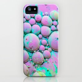 Cotton Candy Bubble Galaxy iPhone Case
