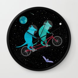 Space Ride Wall Clock