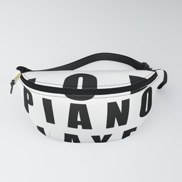 Great Job Piano player Funny Fanny Pack
