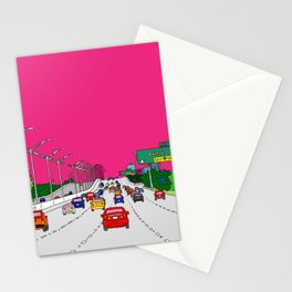 Highway to Miami Stationery Cards