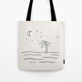 sand and stars Tote Bag