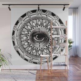 Third Eye Mandala Wall Mural