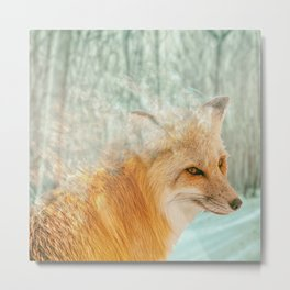 Spirit Fox Metal Print