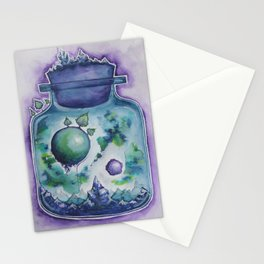 Galaxy in a Bottle Stationery Cards