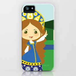 Girls of the World: Russia iPhone Case