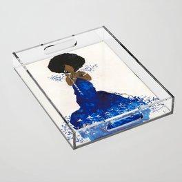 5 Pearls Acrylic Tray