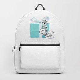 Blue Jewellry Box Backpack