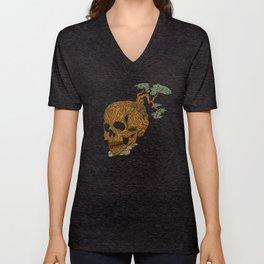 Timber Skull Unisex V-Neck