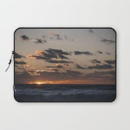 Sunset at dawn in the Ocean Laptop Sleeve